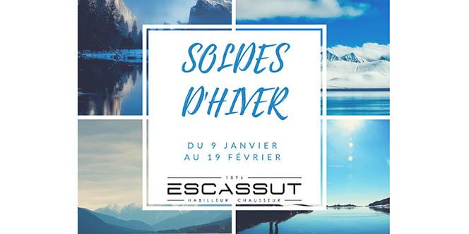 Escassut Montpellier et ses soldes d'hiver