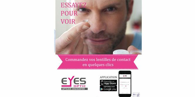 1938ce28b144eb Eyes Optic Castelnau le Lez votre opticien discounter lance son Appli  mobile pour faciliter les commandes
