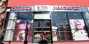 Eyes Optic Opticien discounter à Castelnau le Lez solde des lunettes optiques et des solaires.(® SAAM-fabrce Chort)