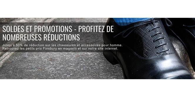Finsbury Montpellier solde des chaussures Homme et affiche des remises exceptionnelles dans le magasin de chaussures hommes en centre-ville.(® finsbury)