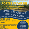 Huilerie Clermont l'Hérault annonce une Journée Portes ouvertes le mercredi 9 août avec des animations.