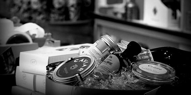 L'Epicerie de François à Montpellier vend des caviars et champagnes d'exception (® SAAM fabrice Chort)