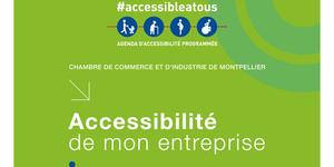 La CCI de Montpellier accompagne les commerces et les entreprises pour l'accessibilité aux personnes à mobilité réduite.