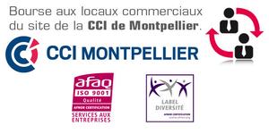 La CCI Hérault publie les annonces de locaux commerciaux à louer, à acheter ou à vendre sur le territoire de Montpellier.