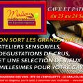 La maison méditerranéenne des vins Grau du Roi annonce Cave et Patrimoine ce week-end les 23 et 24 septembre avec des dégustations de vins, des ateliers et de vieux millésimes à acheter !