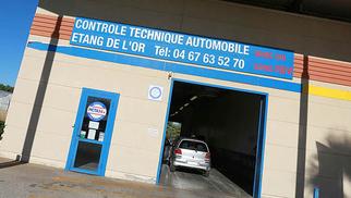 Le centre de contrôle technique de Mauguio MCTA34 assure une qualité incomparable.(® SAAM-fabrice Chort)