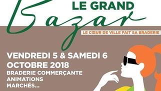 Le Grand Bazar à Montpellier centre-ville les 5 et 6 octobre est un évènement soutenu par la CCI Hérault pour dynamiser l'activité du commerce du centre-ville. Rendez-vous à la braderie géante ce week-end! (® CCI hérault)