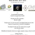Le Mazerand Montpellier Restaurant gastronomique à Lattes dévoile son Menu de Fêtes du 31 Décembre pour le réveillon de la Saint Sylvestre