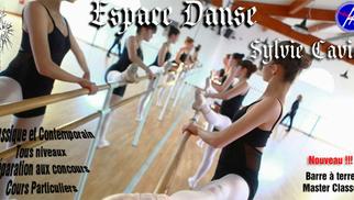 Flyer partiel du conservatoire Espace Danse Sylvie Cavier de Lunel