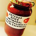 Maison Pourthié Candillargues vend son Ketchup épicé artisanal à la boutique-épicerie.