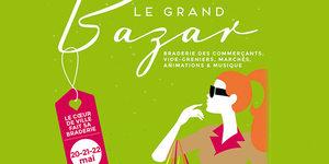 Montpellier fait son Grand Bazar de Printemps les 20, 21 et 22 mai en centre-ville.
