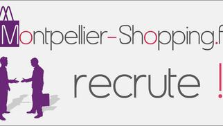 Montpellier-Shopping.fr et Resto-Avenue.fr recrutent plusieurs commerciaux et journalistes web à pourvoir immédiatement.
