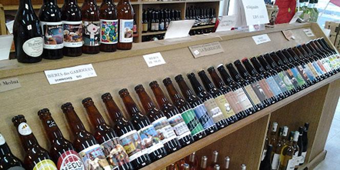 O bon coin Montpellier Epicerie fine vend des bières régionales et des gâteaux en centre-ville.(® o bon coin)
