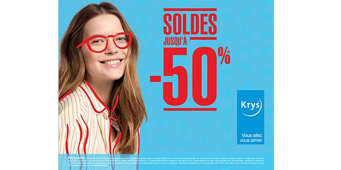Opticien Krys Pérols Grand magasin d'optique près de Montpellier solde jusqu'à -50% !