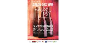 Salon des Vins Grès de Montpellier les 10 et 11 décembre en centre-ville en partenariat avec la CCI Montpellier à l'Hôtel Saint Côme.(® CCI montpellier)