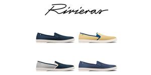 Slice of Life Shop Montpellier vend des chaussures Rivieras pour hommes en centre-ville.