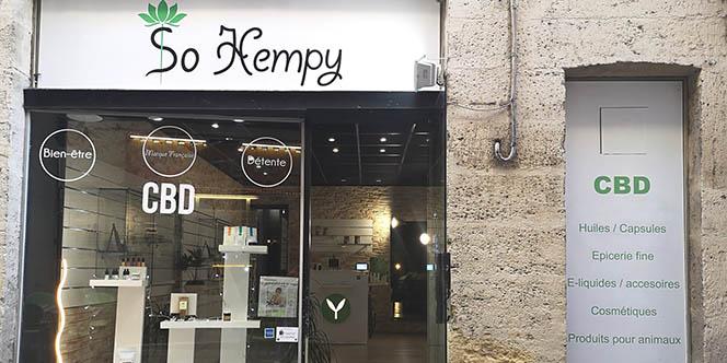So Hempy est la nouvelle boutique CBD de Montpellier qui vend des produits à base de CBD ou cannabidiol en centre-ville.(® so hempy)