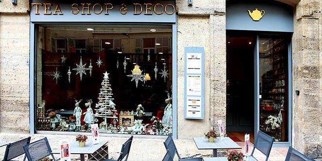 Tea Shop & Déco Montpellier est une boutique dédiée aux thés qui propose aussi des formules de restauration en centre-ville avec des salades d'été pour les beaux jours.(® SAAM-fabrice Chort)