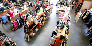 Le 18 Castelnau le Lez annonce de nouvelles collections dans son magasin de déstockage.(® SAAM-fabrice Chort)