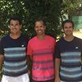 Le club de tennis Pierre Rouge Montpellier présente son nouveau président Vincent Rieu et son équipe.