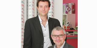 Eyes Optic Castelnau le Lez Opticien discounter vend des lunettes, des solaires et des lentilles moins chères et est dirigé par Manuel Andrieux et Antoine Gilles dans la zone de l'Aube Rouge(® networld-Fabrice Chort)
