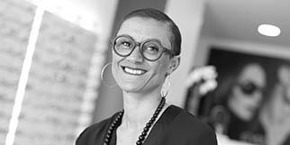 Eyes Optic Montpellier Opticien discounter en centre-ville présente sa responsable Sarah Goman.(® SAAM-fabrice Chort)
