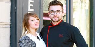 Gabriel créateur de gourmandises Montpellier Pâtisserie fine et salon de thé est animé par Gabriel Duthel et sa compagne Elodie en centre-ville dans le quartier des Beaux Arts (® networld-fabirice Chort)