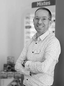 Optical Discount Montpellier Opticien à Port Marianne est dirigé par Sylvain Pécot.(® SAAM-fabrice Chort)