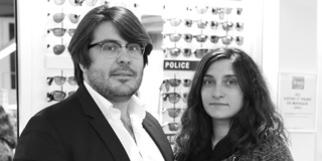 Opticien Krys Pérols grand magasin d'optique avec lunettes, lentilles et solaires est dirigé par Benjamin et Audrey Ayrivié dans la ZAC du Fenouillet.(® NetWorld-Fabrice Chort)