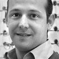 Remi Sanchez, gerant du magasin d'optique Afflelou au Triangle Montpellier (Credits photos :EDV-Sabrina Boirel)