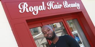 Royal Hair Beauty Montpellier Coiffeur en centre-ville est géré par Clovis Benitos. (® networld-fabirce Chort)
