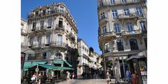 Entrée sud de la Grand Rue Jean Moulin au centre-ville de Montpellier (® NetWorld)