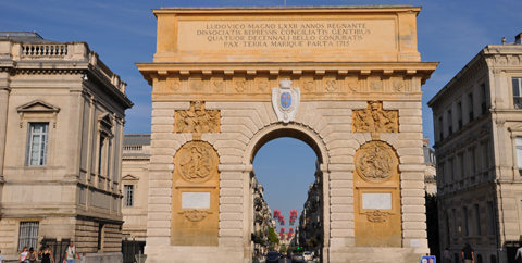 Rue foch arc de triomphe montpellier montpellier - Arc de triomphe montpellier ...