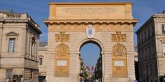 Shopping Rue Foch Montpellier proche de l'Arc de Triomphe au centre-ville de Montpellier (® NetWorld)