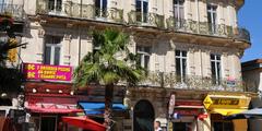 Vue de la Rue de Verdun au centre-ville de Montpellier (credits photos: netWorld)
