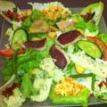 La Salade Aveyronnaise du restaurant Dou Soeurs de Montpellier