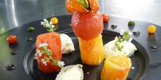 Le Mazerand Lattes propose la recette d'une Assiette fraîcheur gourmande autour de la tomate (® le mazerand)