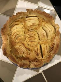 Recette Tarte aux pommes de Pourthié and Co Candillargues (® pourthié and co)