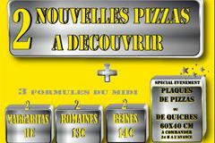 Nouvelles pizzas et Formules de la pizzeria Avanti Pizza de Lattes