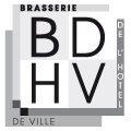 Logo de la Brasserie de l'Hôtel de Ville BDHV sur le Parvis de l'Hôtel de Ville de Montpellier
