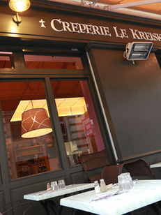 Crêperie Le Kreisker Montpellier proche de la Place de la Comedie au centre-ville (® Networld- Fabrice Chort)