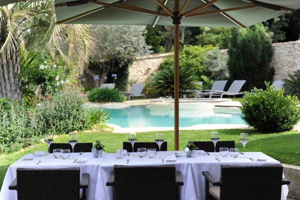 Domaine de verchant restaurant gastronomique castelnau for Entretien jardin castelnau le lez