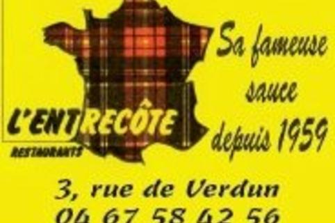 L entrecote - restaurant - brasserie - Verdun - Montpellier-Shopping.fr