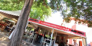 La Jalade Montpellier Restaurant proche des tennis dans le quartier Hopitaux-Facultes (® SAAM-Fabrice Chort)