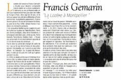 La Jalade Montpellier Restaurant dirigé par Françis Gemarin