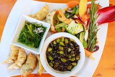Restaurant La Jalade Montpellier dans le tennis club La Jalade et ses assiettes gourmandes dans le quartier Hopitaux-Facultes (® networld-Fabrice Chort)