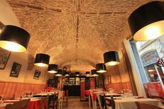 La Pizzeria du Palais Montpellier présente de magnifiques salles voûtées au centre-ville (® NetWorld-Fabrice Chort)