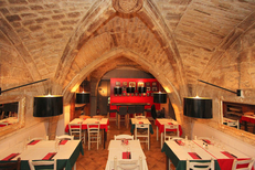 Pizzeria Montpellier centre-ville : la Pizzeria du Palais et son cadre magnifique (® NetWorld-Fabrice Chort)