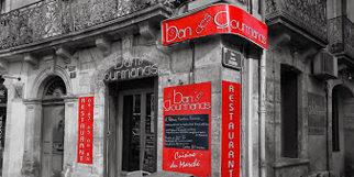 Le Ban des Gourmands Montpellier un restaurant de cuisine du marché sur la Place Carnot au centre-ville (® NetWorld-Fabrice Chort)