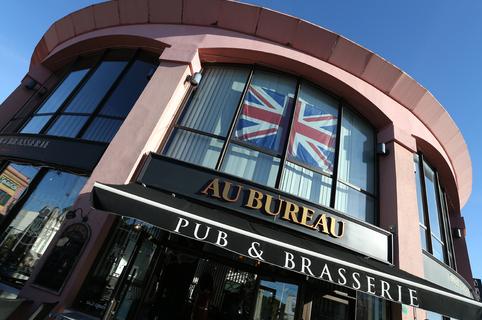 Au Bureau Montpellier restaurant brasserie à Odysseum face au Gaumont Multiplexe (® SAAM-Fabrice Chort)